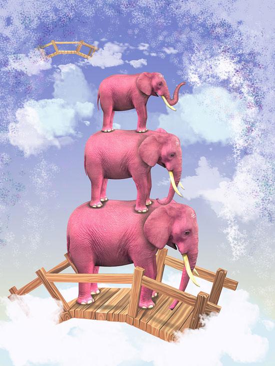 5Pink-Elephant